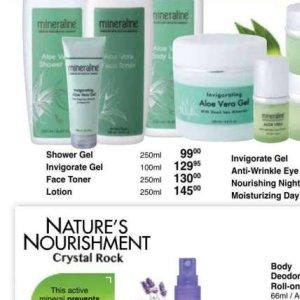 Shower gel at Dis-Chem Pharmacies