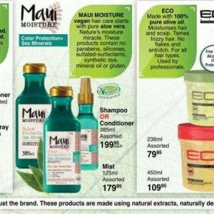 Shampoo at Dis-Chem Pharmacies