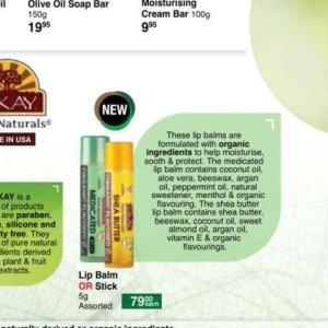 Lip balm at Dis-Chem Pharmacies