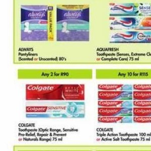 Toothpaste colgate  at Makro