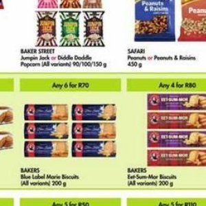Biscuits at Makro