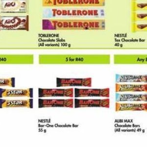 Chocolate at Makro