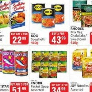 Noodles at Kit Kat Cash&Carry