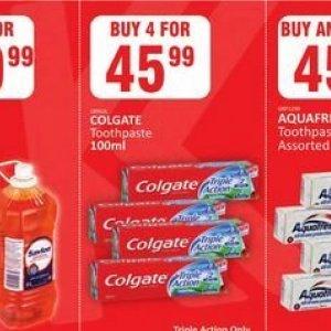 Toothpaste aquafresh  at Kit Kat Cash&Carry