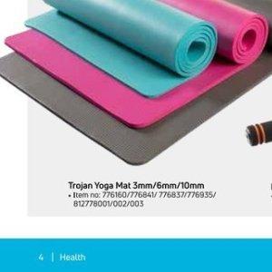 Yoga mat at Game