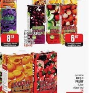 Juice at Kit Kat Cash&Carry