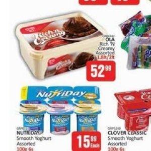 Yoghurt at Kit Kat Cash&Carry
