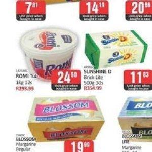 Margarine at Kit Kat Cash&Carry