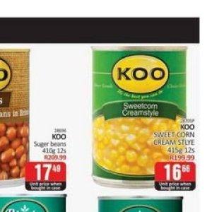 Corn at Kit Kat Cash&Carry