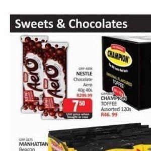 Chocolate at Kit Kat Cash&Carry