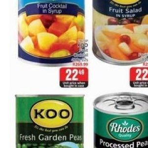 Peas at Kit Kat Cash&Carry