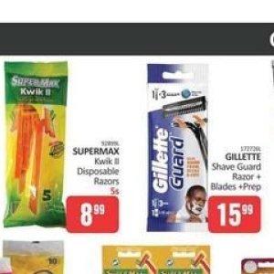 Razor blades gillette  at Kit Kat Cash&Carry