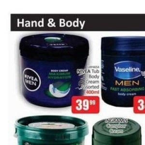 Body cream nivea  at Kit Kat Cash&Carry
