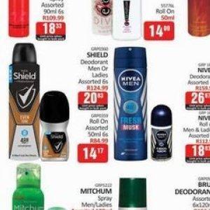 Deodorant at Kit Kat Cash&Carry