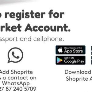 Smartphone at Shoprite
