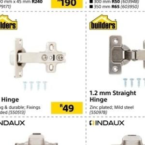 hinge at Builders Warehouse
