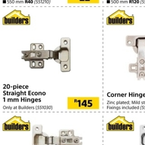 Hinges at Builders Warehouse