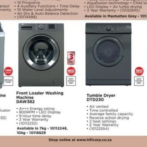 Dryer at HiFi Corp