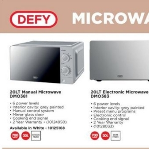 Microwave oven at HiFi Corp