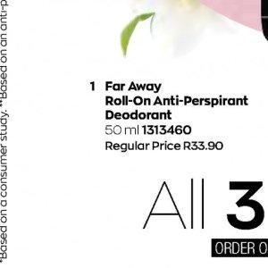 Deodorant at AVON