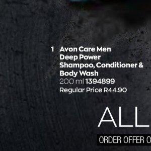 Shampoo at AVON