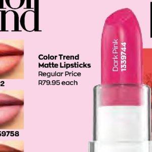 Lipsticks at AVON
