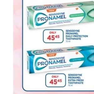 Toothpaste at Link Pharmacy
