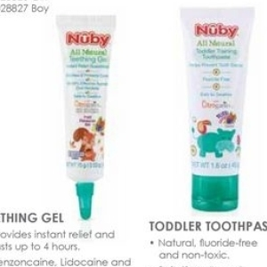 Toothpaste at Baby City
