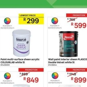Paint at Leroy Merlin