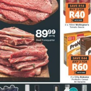 Beef at Checkers Hyper