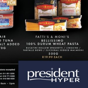 Spaghetti at President Hyper