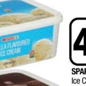Ice cream at Spar