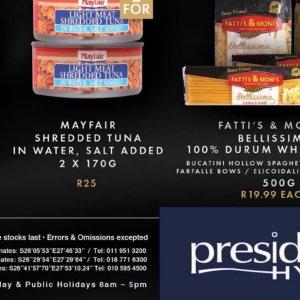 Salt at President Hyper