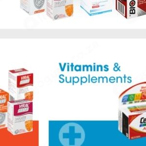 Vitamins at Clicks