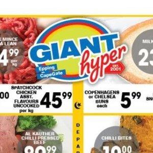 Buns at Giant Hyper