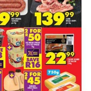 Bacon at Shoprite