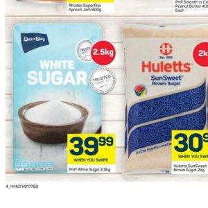 Sugar at Pick n Pay Hyper