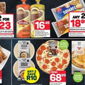 Bread at Pick n Pay Hyper