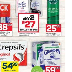 Roll-on at Pick n Pay Hyper
