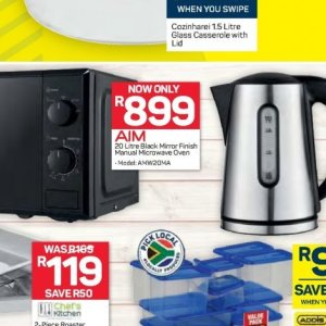 Microwave oven at Pick n Pay Hyper