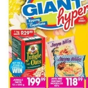 Noodles at Giant Hyper