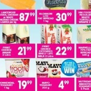 Yoghurt at Giant Hyper