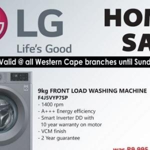 Washing machine at Tafelberg Furnishers
