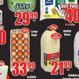 Eggs at Boxer Superstores