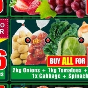 Spinach at Three Star Cash and Carry