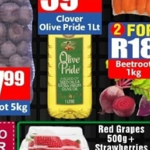 Grapes at Three Star Cash and Carry