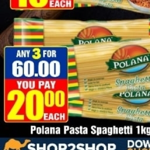 Spaghetti at Three Star Cash and Carry