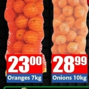 Oranges at Three Star Cash and Carry
