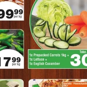 Carrots at Check Star
