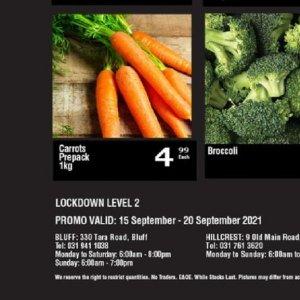 Carrots at Oxford freshmarket